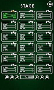 Solitaire Freecell : 1 million of stages - náhled