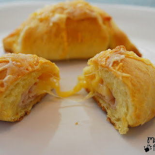 Turkey and Cheese Crescent Roll