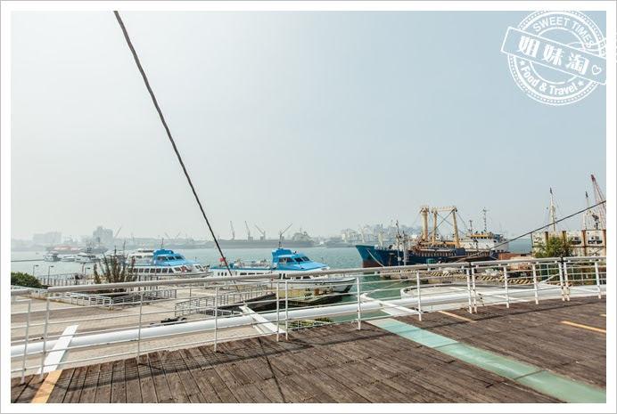 新光碼頭觀景台