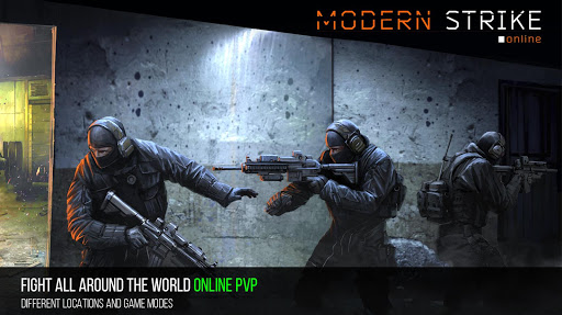 Modern Strike Online - FPS Shooting games free screenshot 1