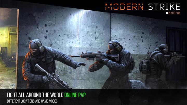 Modern Strike Online - FPS! Android App Screenshot