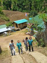Photo: On the way to Huai Mae Kiang village house call.