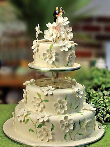 婚禮蛋糕拼圖