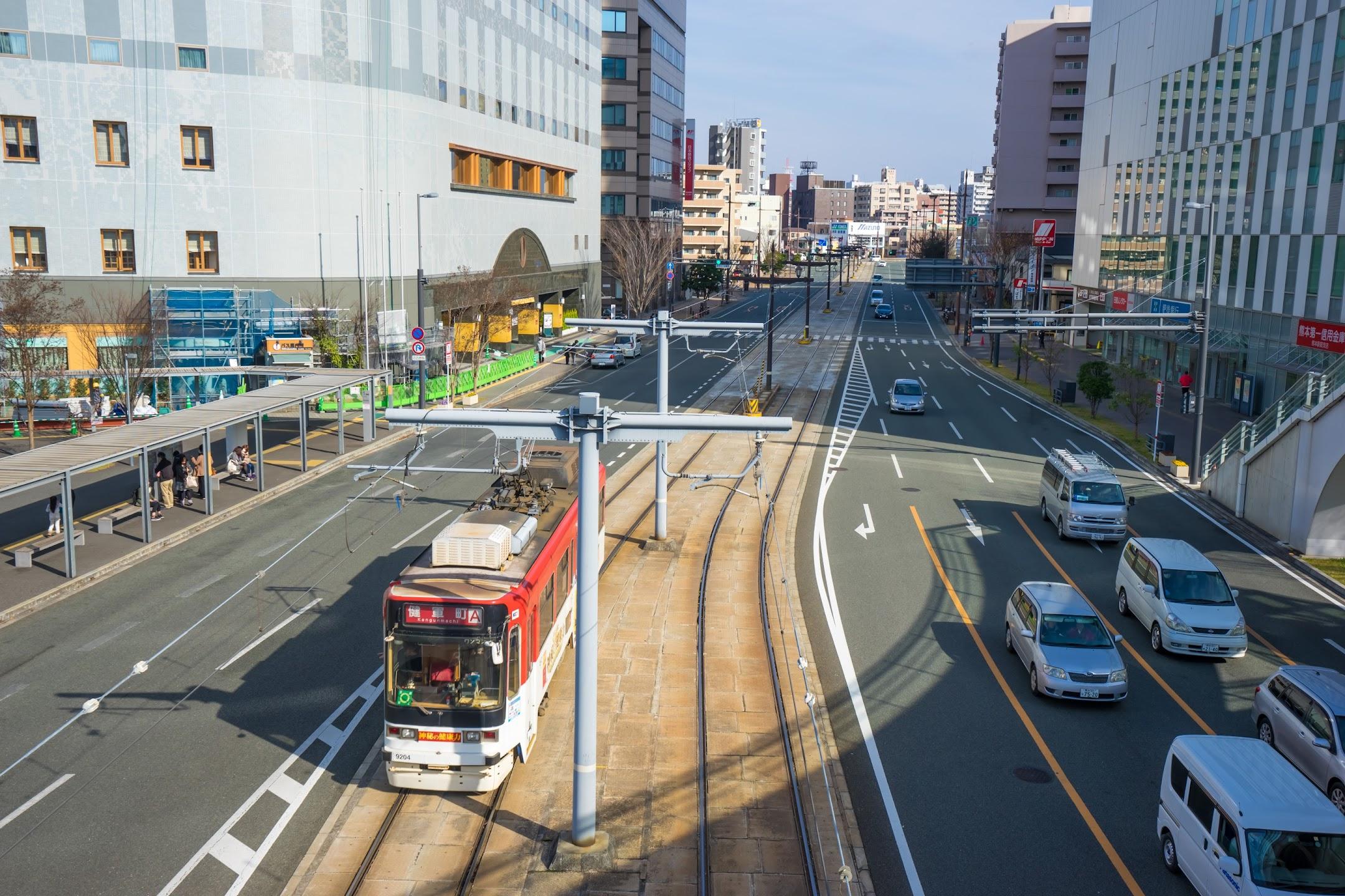 Kumamoto city tram3