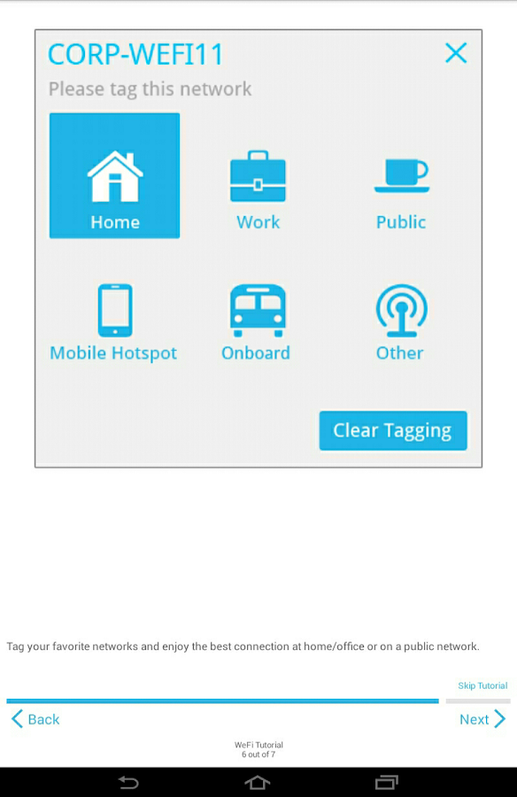 WeFi Pro - Automatic Wi-Fi - screenshot