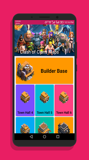 Maps Clash Of Clans 2018 2.5 screenshots 1
