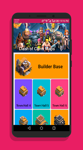 Maps Clash Of Clans 2018