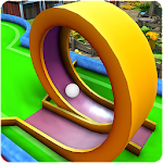 Mini Golf Multiplayer Clash - Cartoon Forest Icon