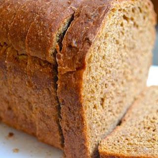 Oatmeal Molasses Bread.
