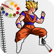 Game Goku Superhero Coloring Games for Kids APK for Windows Phone