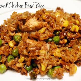 Kid Approved Chicken Fried Rice.