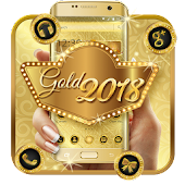 Luxury Gold 2018 Launcher Theme