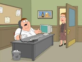 Peter lässt arbeiten