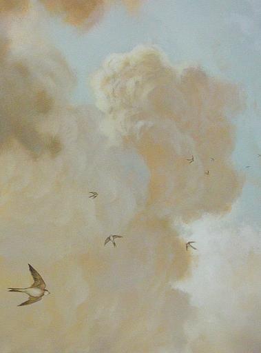 Décor mural pour Moissonnier