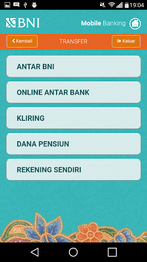 BNI Mobile Banking  screenshots 3