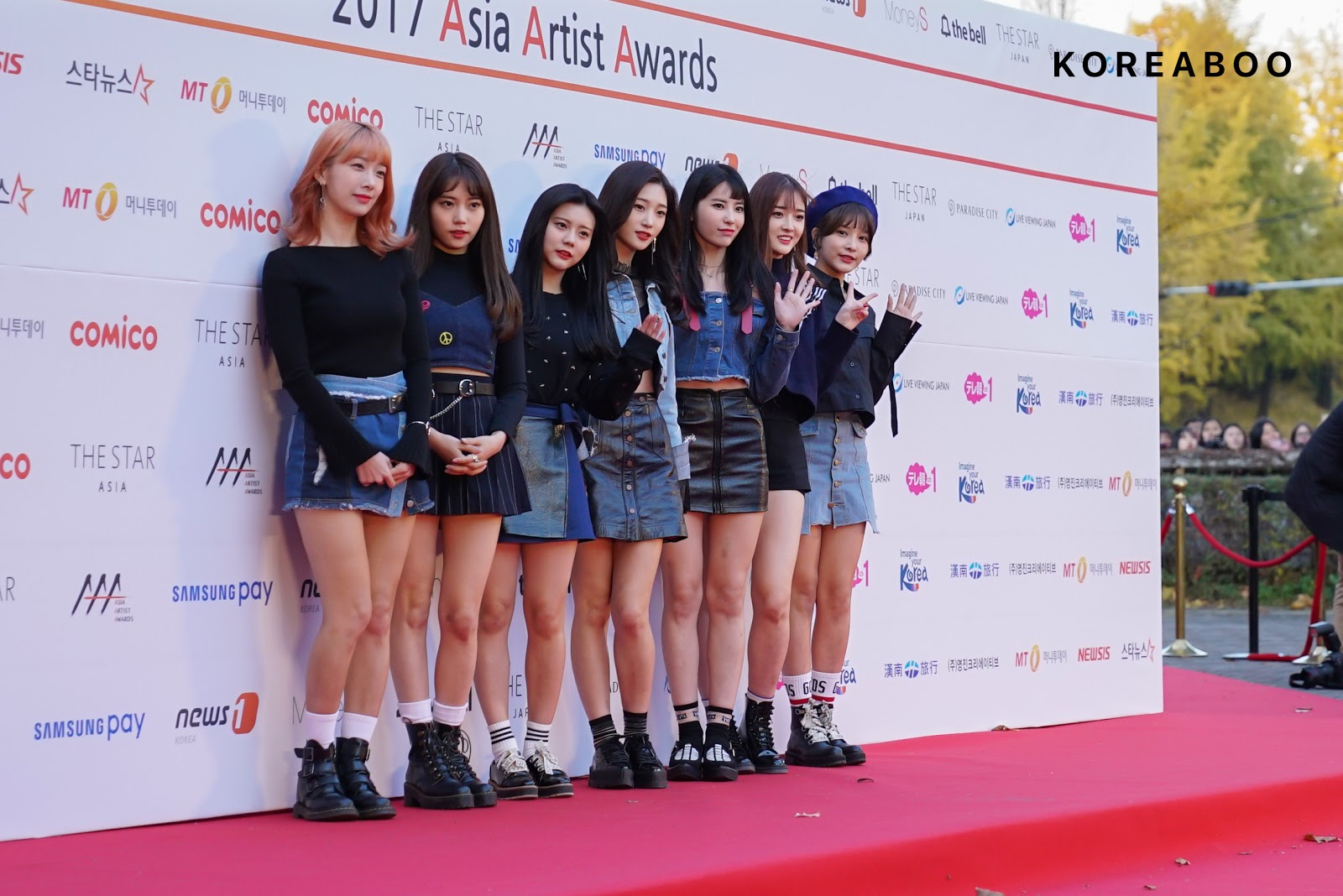 Ranking Of The Best Dressed Idols At The 2017 Asian Artist Award Red