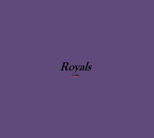 Royals Lyrics