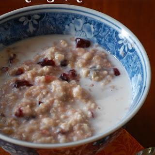 Cranberry Vanilla Oatmeal