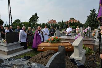 Photo: Pogrzeb śp. Anieli Król