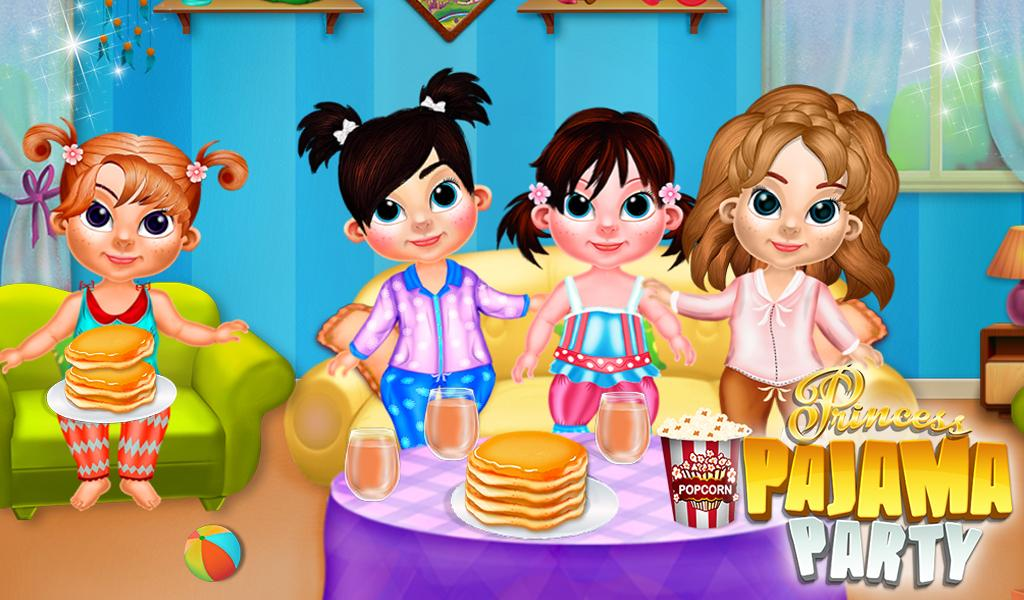Princess Pajama Party- screenshot