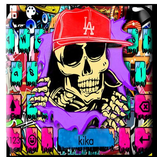 Street Graffiti Keyboard Theme Icon