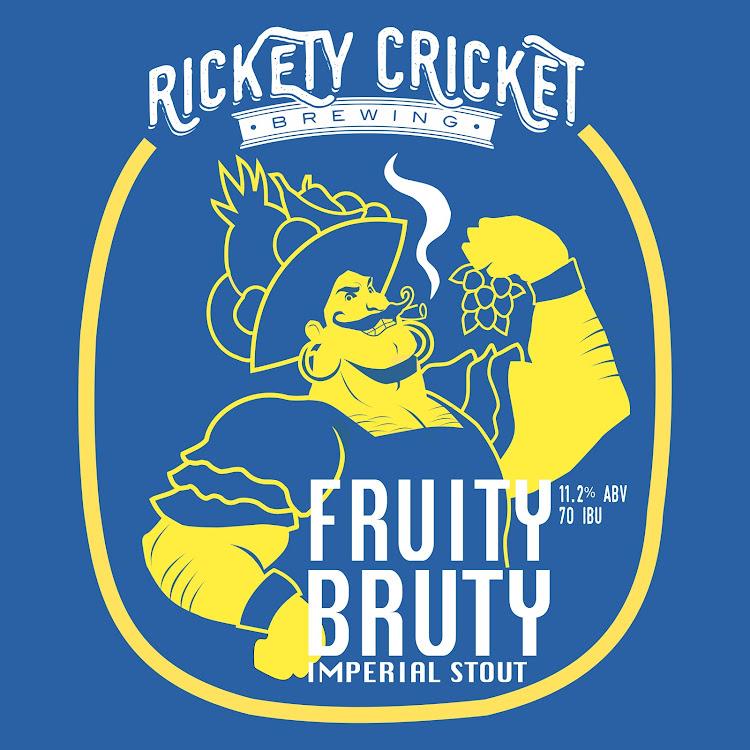 Logo of Rickety Cricket Fruity Bruty