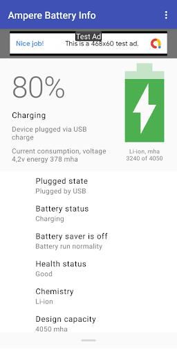Ampere Battery Info screenshot 1