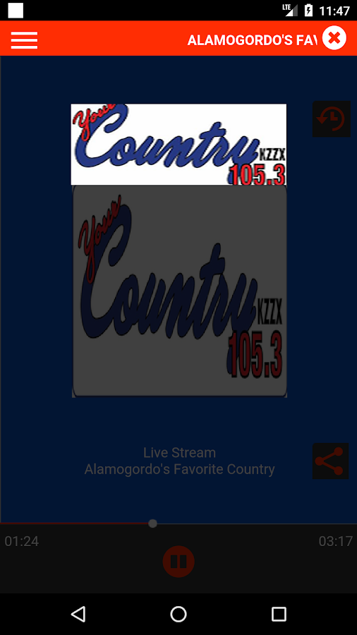 Your Country 105.3 KZZX- screenshot