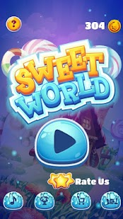 Sweet Candies World - náhled