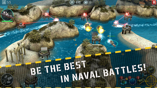 Naval Rush: Sea Defense  screenshots 1