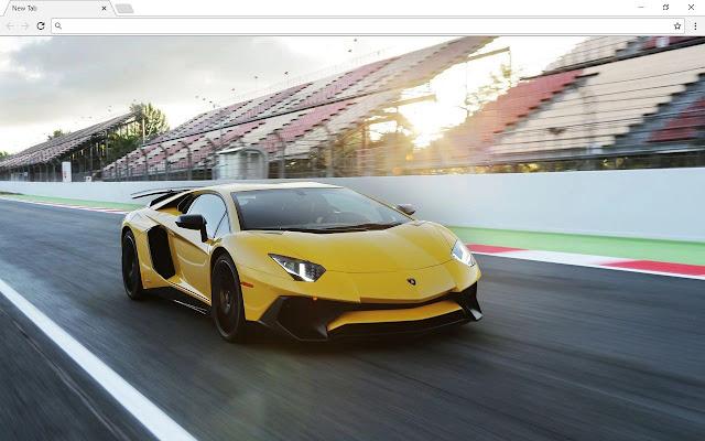 Bugatti vs Lamborghini Themes & New Tab