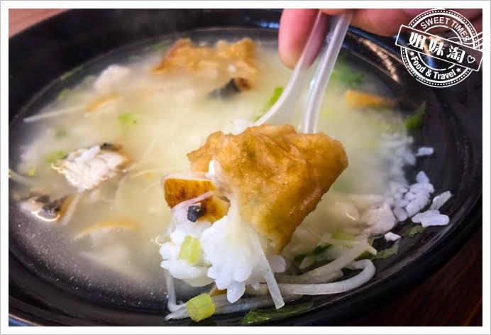 禾糖台南鹹粥土魠魚粥