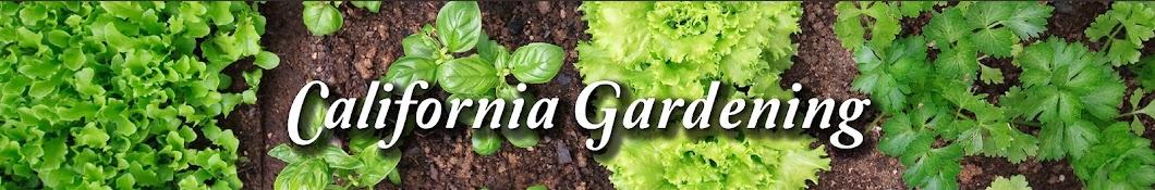 California Gardening Banner