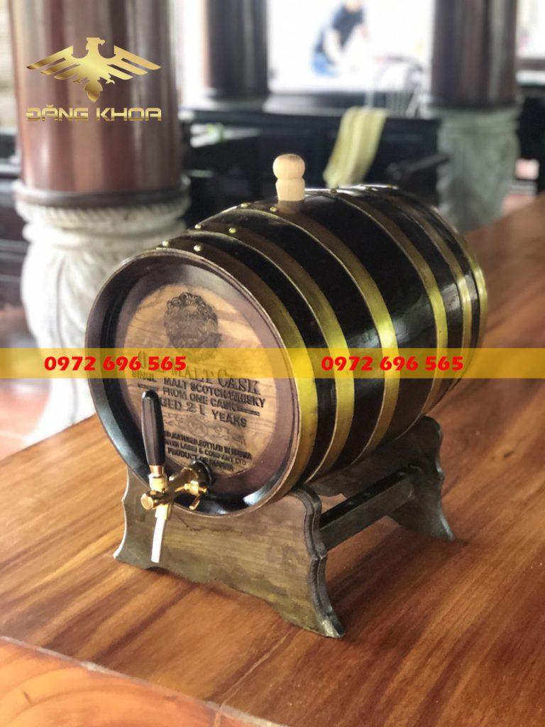 Thùng gỗ ngâm rượu giúp tăng giá trị cho rượu