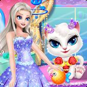 Tải Game công chúa Angela Dọn dẹp Cát 2