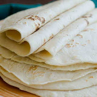DIY Homemade Flour Tortillas.