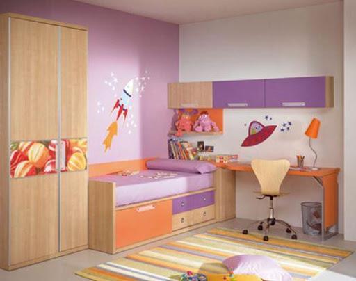 キッドベッドルームの設計