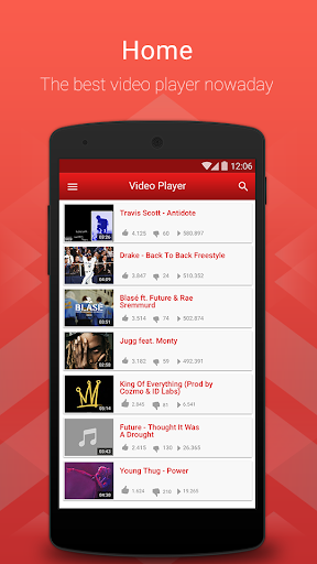Video Player - Play Music Tube