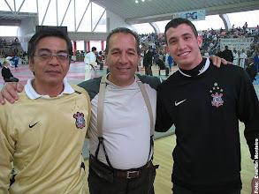 Photo: Prof. Mário Chibana e atleta Gabriel Vacc - Campeonato Paulista de Judô Estudantil Sub 15 e Sub 18 - Praia Grande – 2009