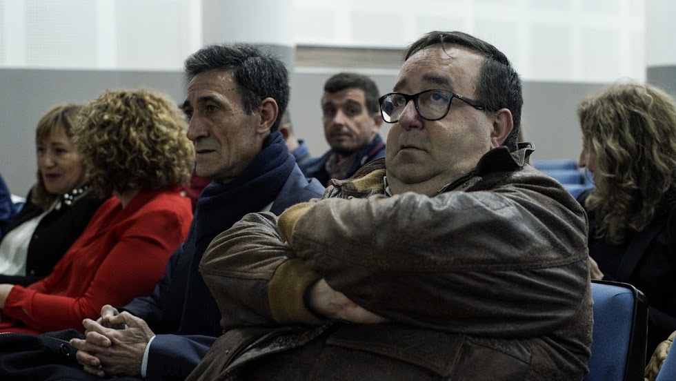 Rubí, concejal de Deportes de Roquetas de Mar.