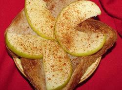 Apple Toast Breakfast Recipe