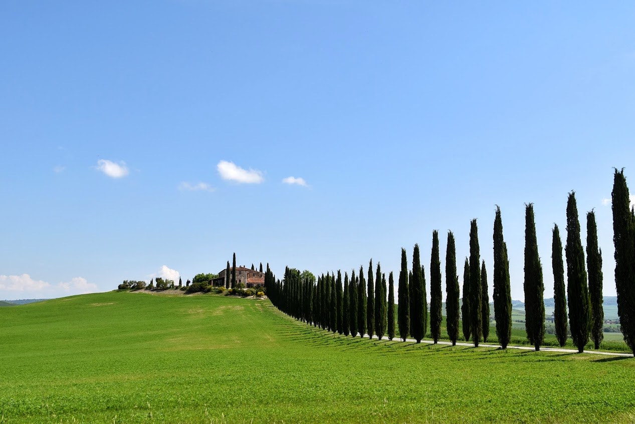 paisajes de toscana