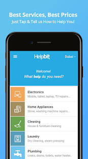 Helpbit - Services on demand- screenshot thumbnail