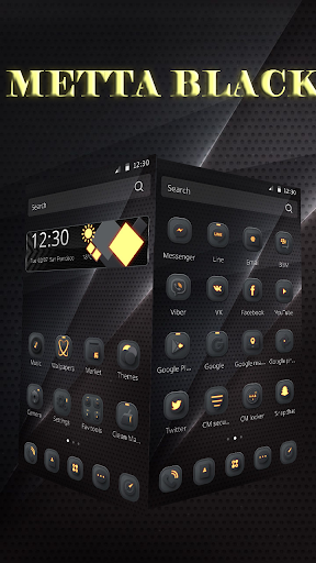 Cool Black for Samsung/Huawei 1.1.16 screenshots 1