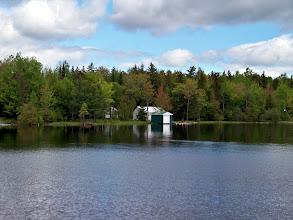Photo: A little cabin on Moosehead Lake