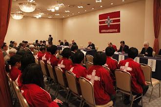 Photo: 総会中、幹事席からの様子です。