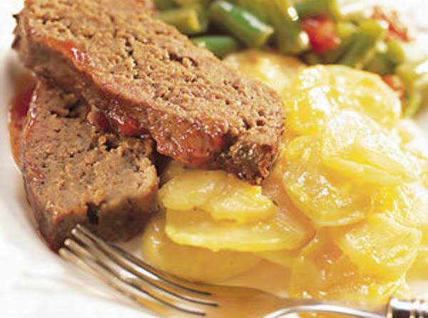 One Pan Meatloaf Dinner Recipe