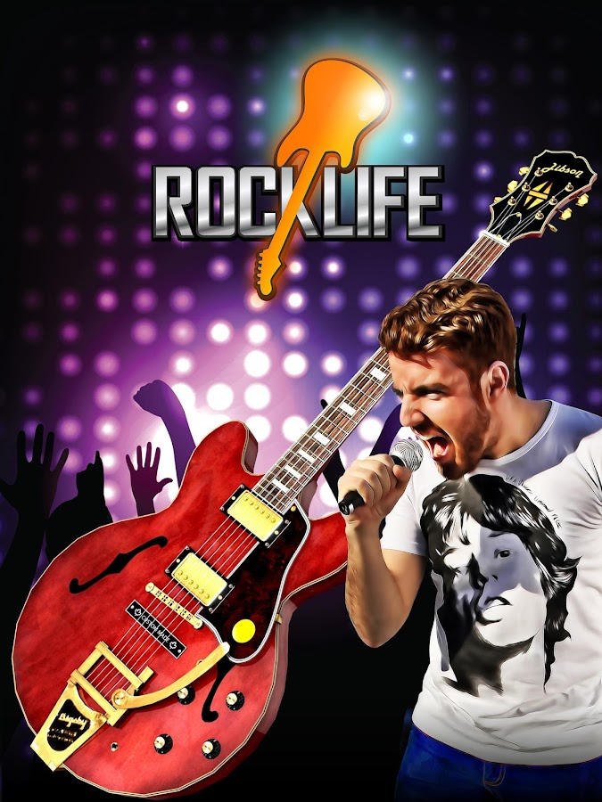 Rock Life - Guitar Legend- screenshot