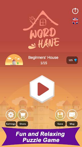 Wordhane - Word Puzzle Game 1.5 screenshots 1