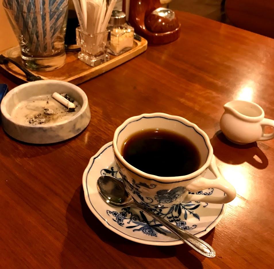 カフェレストラン にんじん 食後のコーヒー
